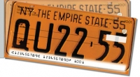 New York License Plate Side Tear Personal Checks