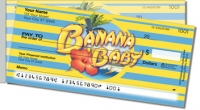 Banana Baby Side Tear Personal Checks