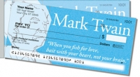 Mark Twain Side Tear Personal Checks