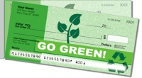Going Green Side Tear Personal Checks