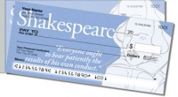 Shakespeare Side Tear Personal Checks