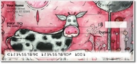 I Love Moo Personal Checks