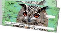 Eyes of an Owl Side Tear Personal Checks
