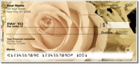 Beautiful Rose Personal Checks