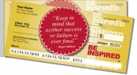 Be Inspired Side Tear Personal Checks
