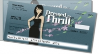 Dressed to Thrill Side Tear Personal Checks