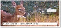 Watercolor Deer Personal Checks