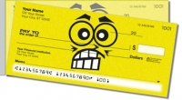 Funny Face Side Tear Personal Checks
