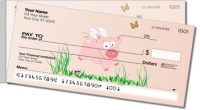 Flying Pig Side Tear Personal Checks