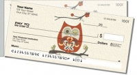 Country Owl Side Tear Personal Checks