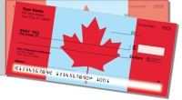 Canadian Pride Side Tear Personal Checks