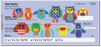 Owl Together Now Personal Checks