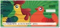 Cartoon Rooster Personal Checks