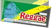Reggae Music Side Tear Personal Checks