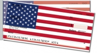 US Flag Side Tear Personal Checks