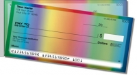 Rainbow Wave Side Tear Personal Checks