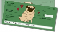 Pug Side Tear Personal Checks
