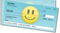 Emoticon Side Tear Personal Checks