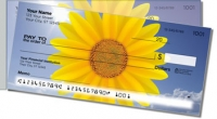 Sunflower Side Tear Personal Checks