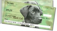 Black Lab Side Tear Personal Checks