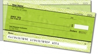 Wild About Lime Side Tear Personal Checks