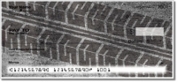 Tire Tread Personal Checks