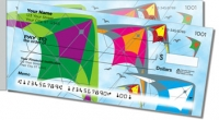 Colorful Kite Side Tear Personal Checks