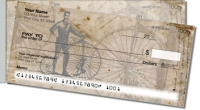 Vintage Bicycle Side Tear Personal Checks