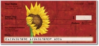 Sunflower Delight Personal Checks