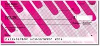 Dashing Diagonal Personal Checks