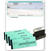 Beach Scene Microsoft Money Kit