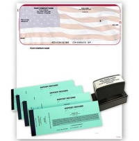American Flag Microsoft Money Kit