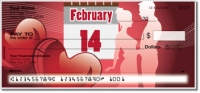 Valentine's Day Personal Checks