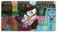 Day of the Dead Skull Checkbook Covers