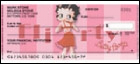 Betty Boop Vintage Side Tear Personal Checks - 1 box