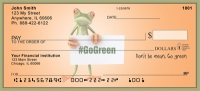Toadly Green Personal Checks