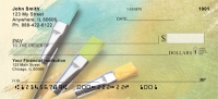 Colorful Canvas Personal Checks