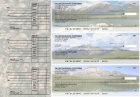 Scenic Mountains Accounts Payable Designer Business Checks
