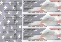 American Flag Accounts Payable Designer Business Checks