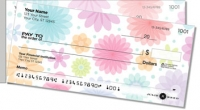 Geo Floral Side Tear Personal Checks