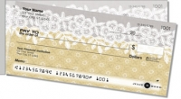 Lace Border Side Tear Personal Checks