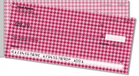 Reed Houndstooth Side Tear Personal Checks