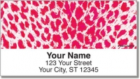 Neon Leopard Address Labels Accessories