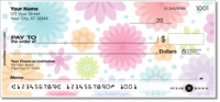 Geo Floral Personal Checks