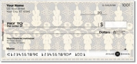 Lace Rose Personal Checks