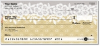 Lace Border Personal Checks