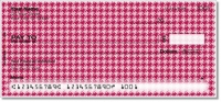Reed Houndstooth Personal Checks