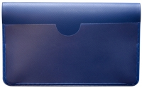 Blue Vinyl Debit Card Cover