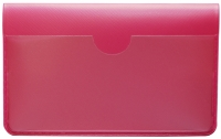 Hot Pink Vinyl Debit Card Cover