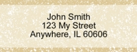 Parchment Rectangle Address Labels Accessories